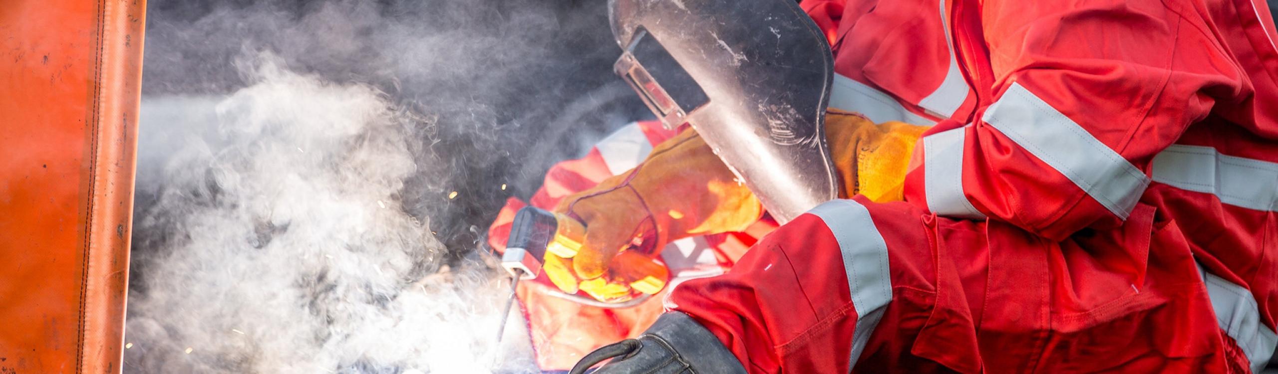 We always deliver a job weld done