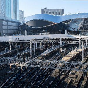 FCFTGG Open view of Birmingham new street train station ,